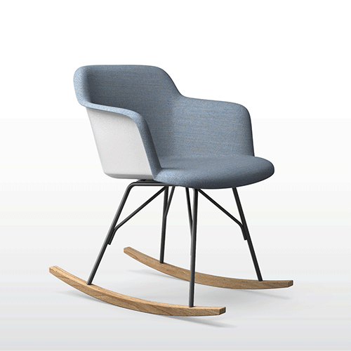 Furniture hive, Quinti DEEP PU Rocking Chair